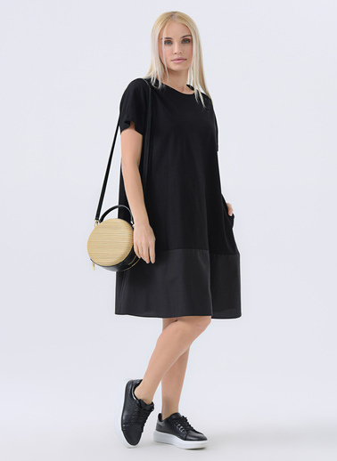 Gusto Elbise Siyah